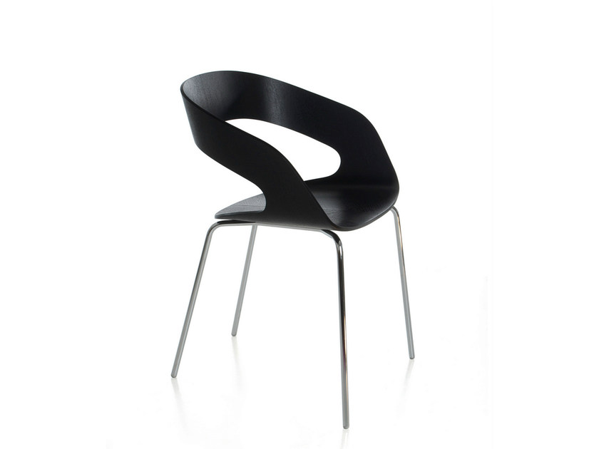 Plywood restaurant chair CHAT | Plywood chair by Plycollection