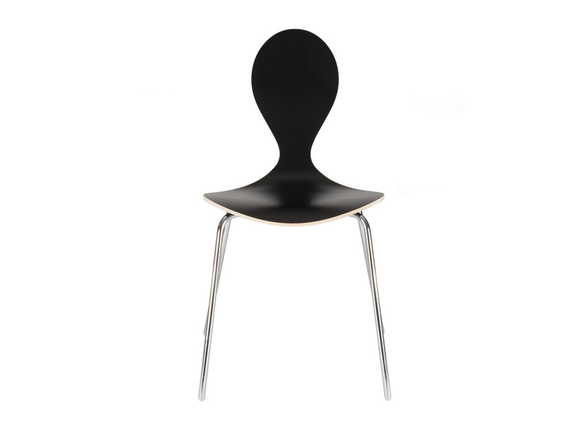 Contemporary style plywood restaurant chair PYT | Chair by Plycollection