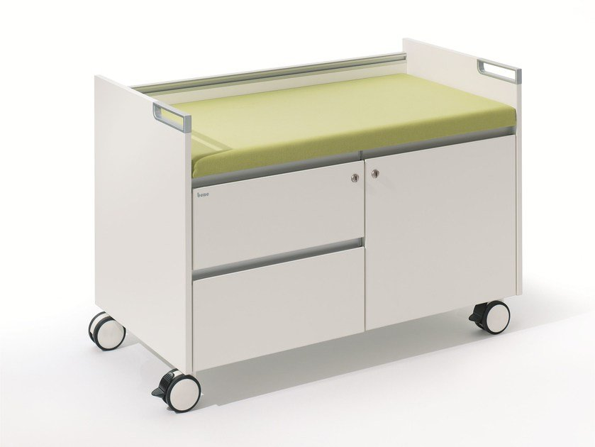 Modular office drawer unit with casters T-Caddy by BENE