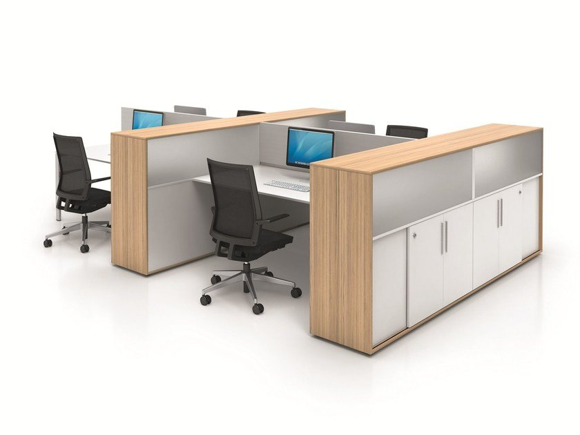 Office workstation CUBE_S by BENE