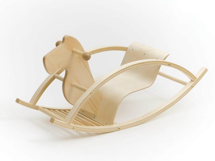Birch rocking horse ROCKING HORSE by Tarmeko KIDS