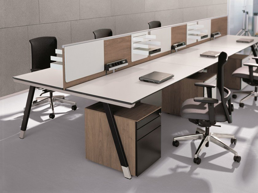 Office workstation T-Workbench by BENE