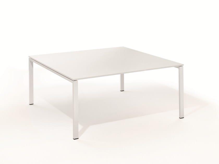 Square meeting table T-MEETING | Square meeting table by BENE