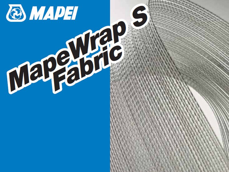 Steel reinforcing fabric MAPEWRAP S FABRIC by MAPEI