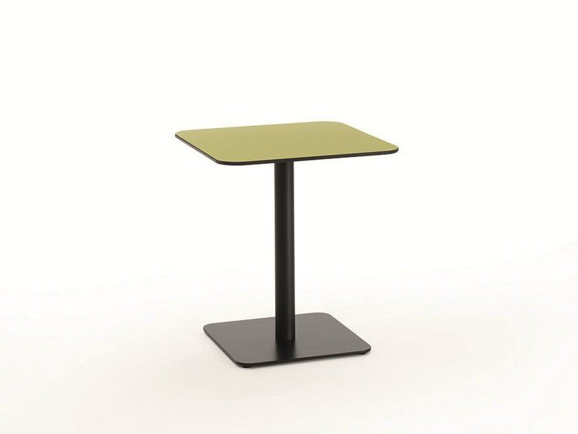 Square contract table T-MEETING   Square table by BENE