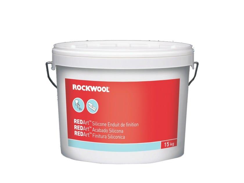 Silicate paint REDArt™ FINITURA SILICONICA by Rockwool Italia