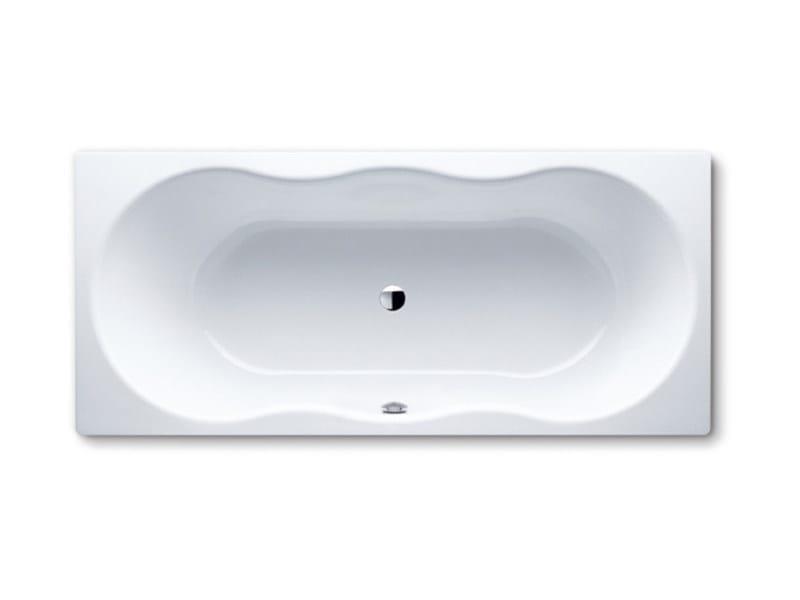 Vasca da bagno rettangolare in acciaio da incasso NOVOLA DUO by Kaldewei Italia