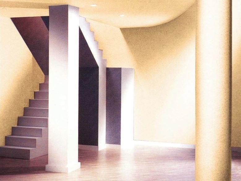Sound absorbing synthetic fibre wallpaper FIBERWOVEN® D by TECNOFLOOR