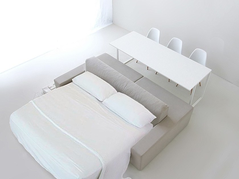 Sofa / table ISOLAGIORNO™ CLASS+SLIM | Sofa bed by LAYOUT ISOLAGIORNO