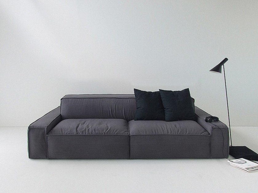 3 seater sofa ISOLAGIORNO™ EASY monò by LAYOUT ISOLAGIORNO