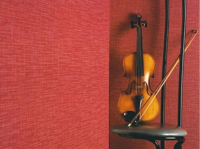 Sound absorbing synthetic fibre wallpaper WALLDESIGN® ACCORD by TECNOFLOOR