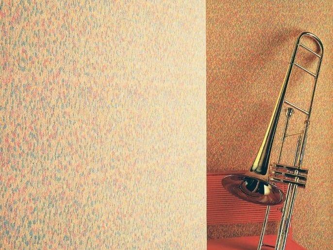 Sound absorbing synthetic fibre wallpaper WALLDESIGN®  BADIN by TECNOFLOOR