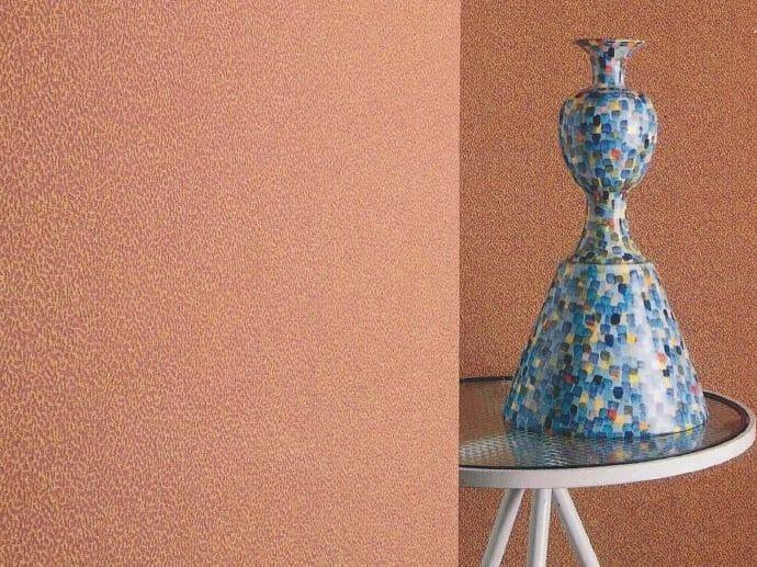 Sound absorbing synthetic fibre wallpaper WALLDESIGN® BASTUDE by TECNOFLOOR