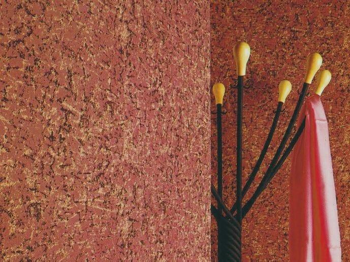 Sound absorbing synthetic fibre wallpaper WALLDESIGN® BASALTE by TECNOFLOOR