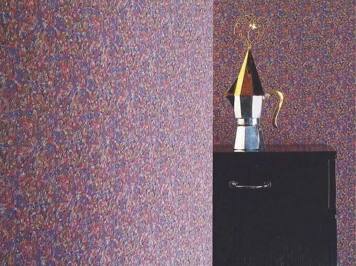 Sound absorbing synthetic fibre wallpaper WALLDESIGN® CHARADE by TECNOFLOOR