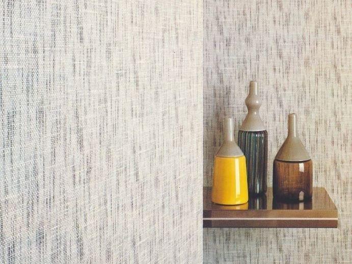 Sound absorbing synthetic fibre wallpaper WALLDESIGN® IUTA by TECNOFLOOR