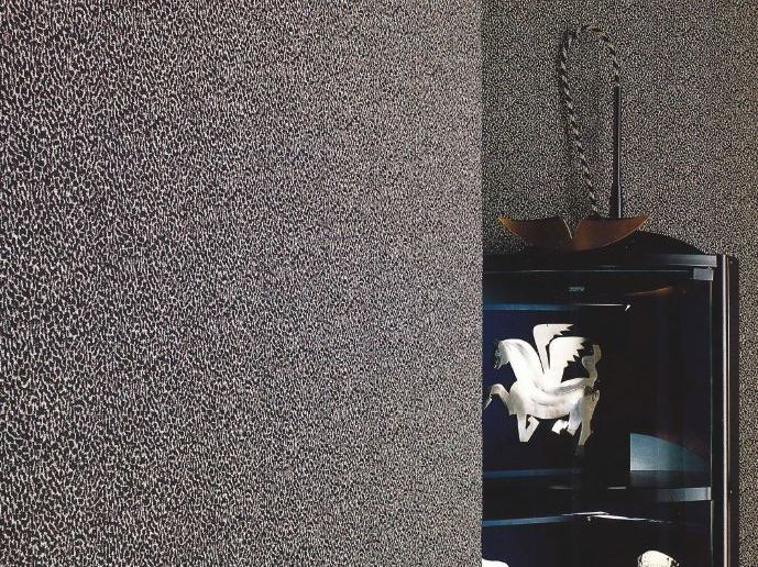 Sound absorbing synthetic fibre wallpaper WALLDESIGN® by TECNOFLOOR