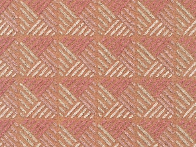 Sound absorbing synthetic fibre wallpaper WALLDESIGN® DIAMANTE by TECNOFLOOR