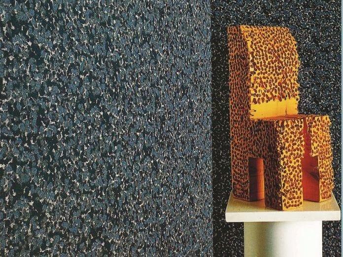 Sound absorbing synthetic fibre wallpaper WALLDESIGN® by TECNOFLOOR