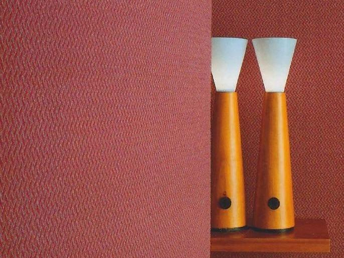 Sound absorbing synthetic fibre wallpaper WALLDESIGN® DUKE by TECNOFLOOR