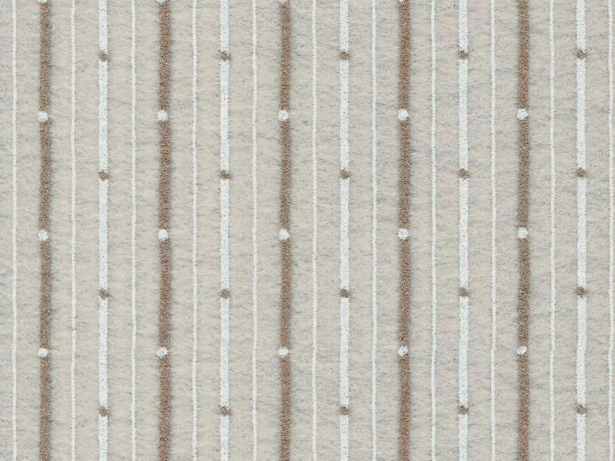 Sound absorbing synthetic fibre wallpaper WALLDESIGN® ISOCRATE by TECNOFLOOR