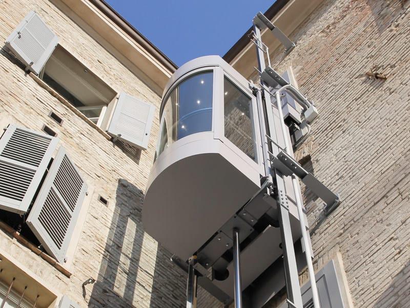 Panoramic custom lift PANORAMA by LIFTINGITALIA
