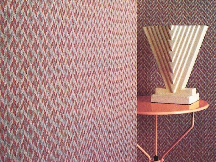 Sound absorbing synthetic fibre wallpaper WALLDESIGN® NOBLE by TECNOFLOOR