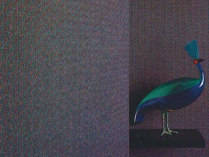 Sound absorbing synthetic fibre wallpaper WALLDESIGN® LORD by TECNOFLOOR