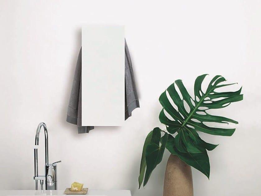 Electric wall-mounted aluminium towel warmer SLIM by mg12