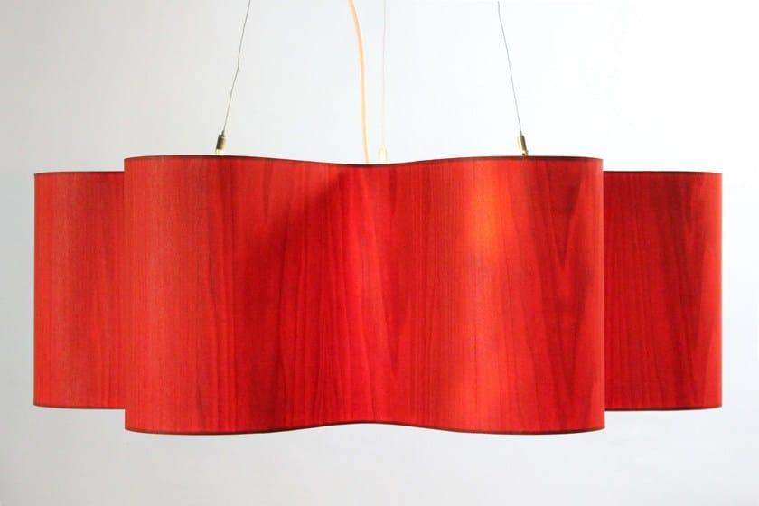 Led wood veneer pendant lamp lotus by lampa led wood veneer pendant lamp lotus by lampa mozeypictures Images