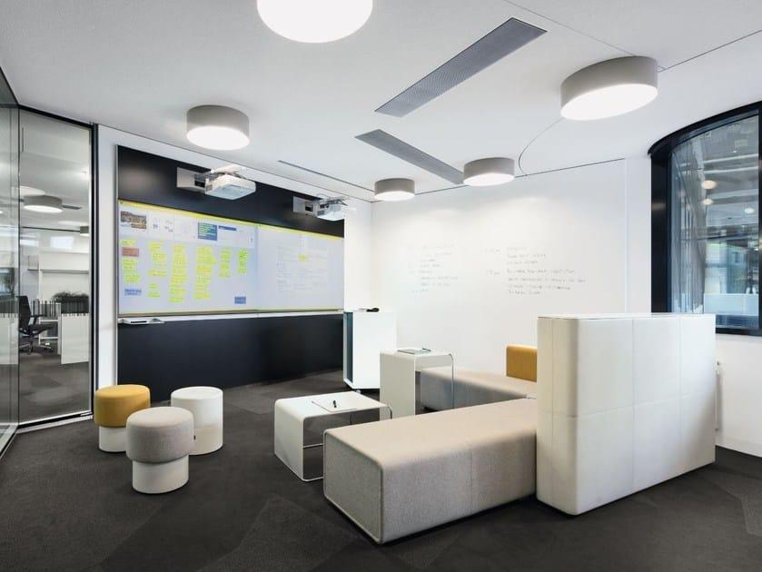 Modulares Whiteboard zur Wandmontage IDEA WALL By BENE