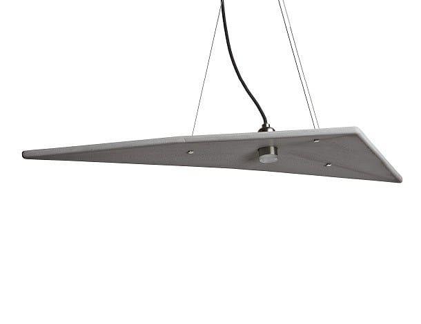 LED pendant lamp HERON 350 by URBI et ORBI
