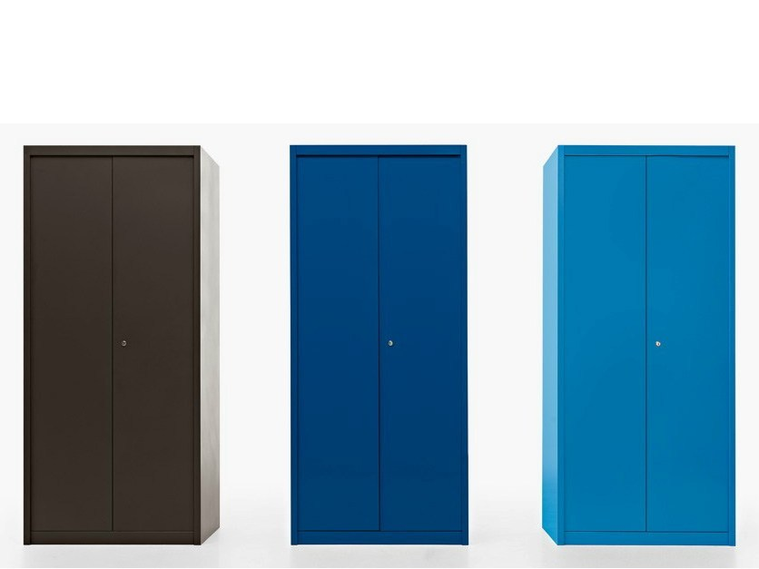 Tall office storage unit with lock ROBUSTO   Office storage unit by Fantin