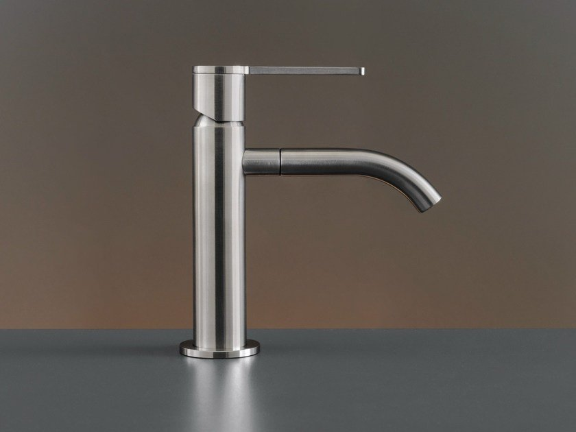 Deck mounted mixer with swivelling spout INV 01 by Ceadesign