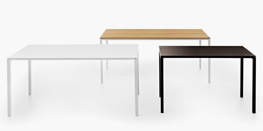 Tavolo da cucina rettangolare in legno AER   Tavolo in legno - Fantin