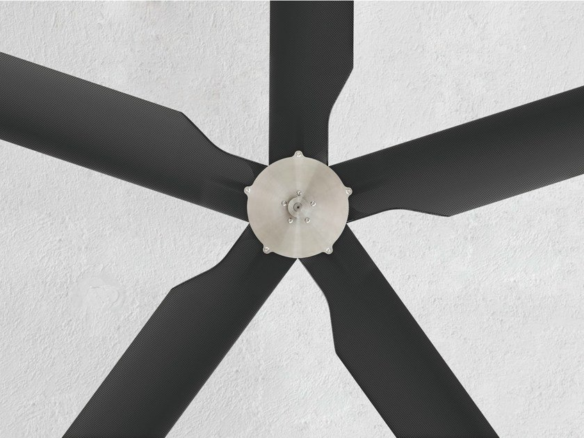 Ceiling mounted fan TWO 01 by Ceadesign