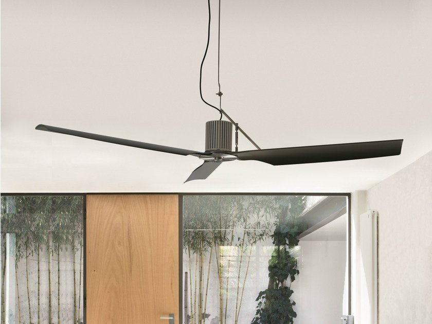 Ceiling mounted fan TWO 02 by Ceadesign
