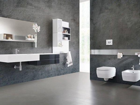 Metal bathroom furniture set MAGNETIKA BATHROOM by Ronda Design