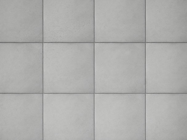 Concrete wall tiles MURUS by URBI et ORBI