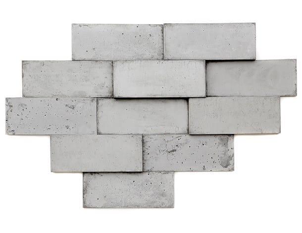 Concrete 3D Wall Cladding PANELO 3D by URBI et ORBI