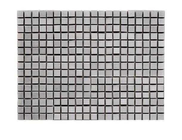 Concrete 3D Wall Cladding PLANTED CUBES by URBI et ORBI