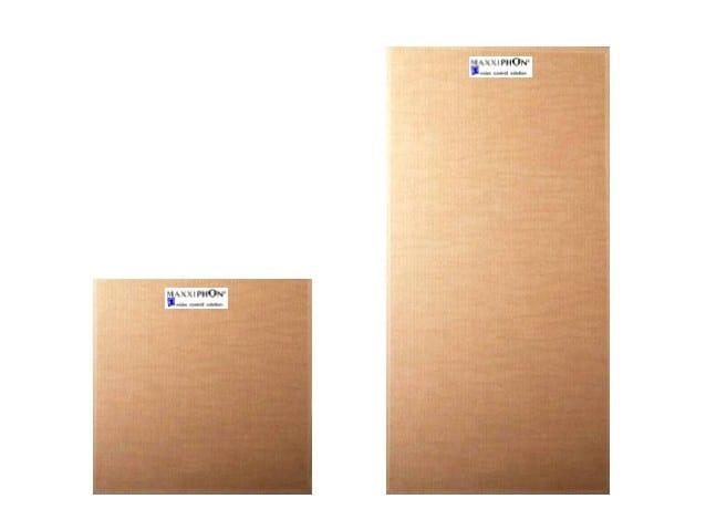 Wood fibre sound insulation panel MAXXIPHON® by DECORUS