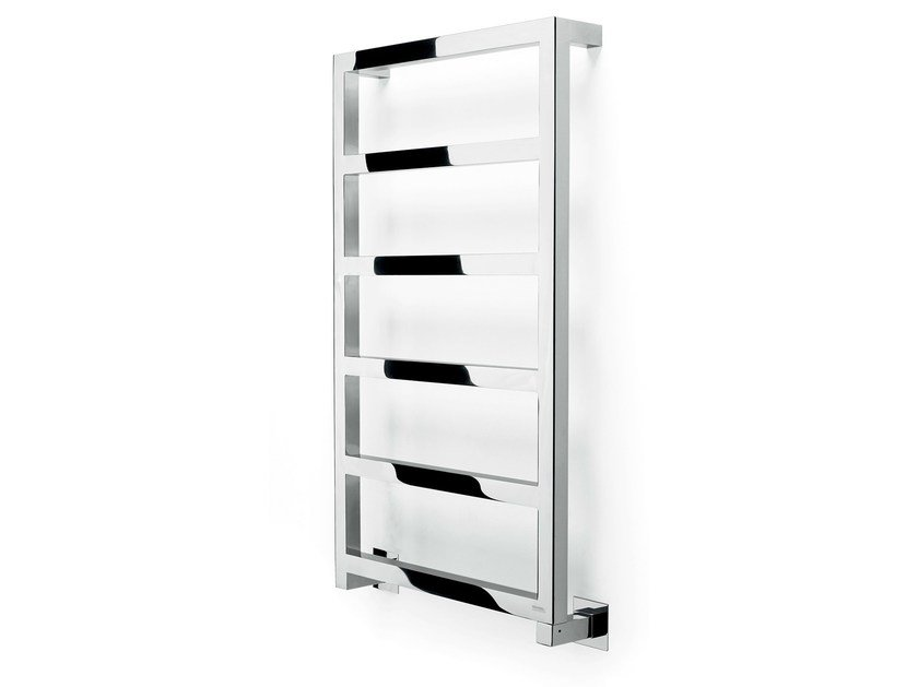 Electric wall-mounted towel warmer STEEL GLAM by FOURSTEEL