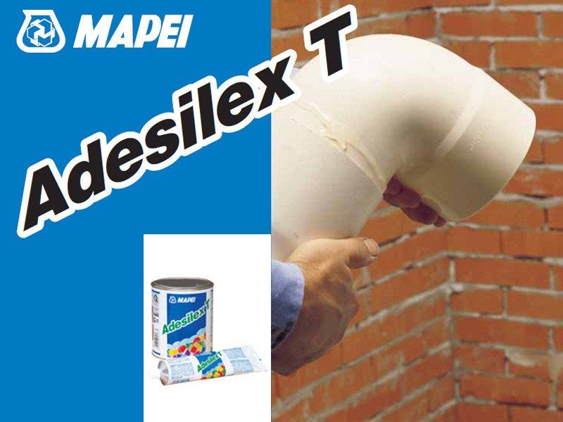 Additive and resin for waterproofing ADESILEX T by MAPEI