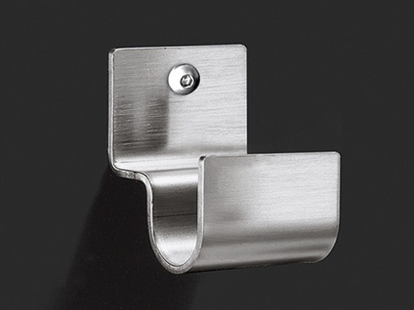 Stainless steel handshower holder NEU 11 by Ceadesign