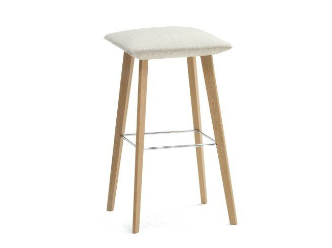 Barstool with footrest JALIS | Barstool by COR
