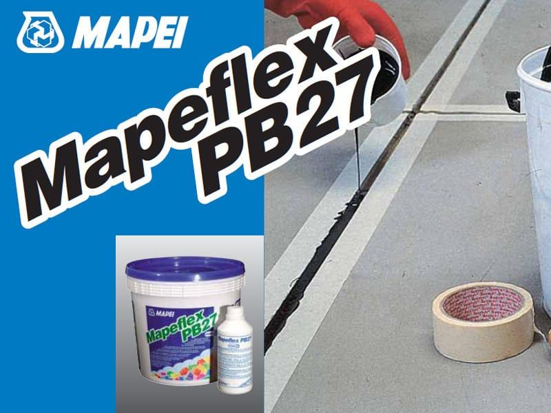 Polyurethane sealant MAPEFLEX PB27 by MAPEI