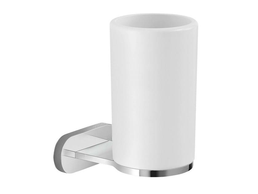Ceramic toothbrush holder LINFA ACCESSORI | Ceramic toothbrush holder by newform