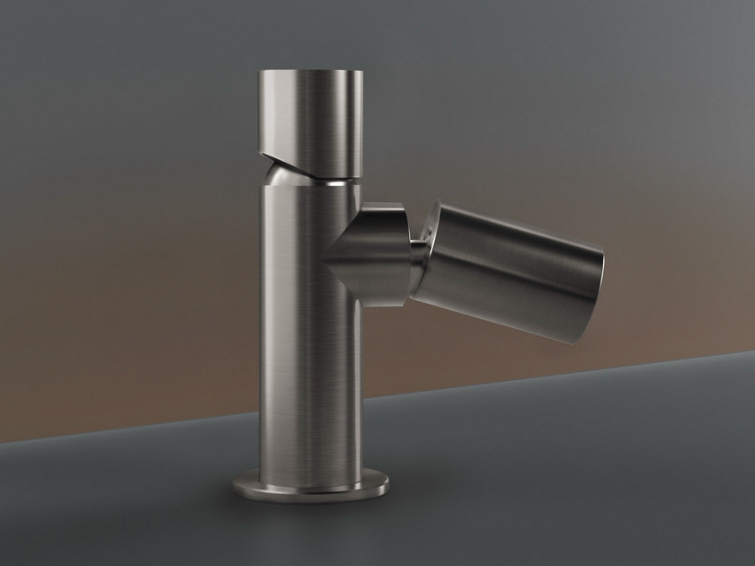 Deck mounted mixer with adjustable spout CAR 80 by Ceadesign