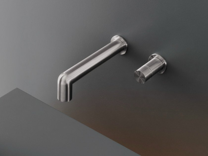 Wall mounted mixer with spout CAR 09 by Ceadesign